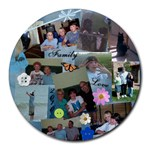 my mouse pad 2 - Collage Round Mousepad
