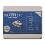 Sandvich! - Large Mousepad