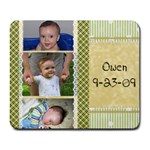 owen - Collage Mousepad