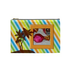 Summer By Angel   Cosmetic Bag (medium)   Q2pnzzid1wbo   Www Artscow Com Front