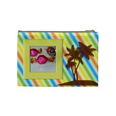 Summer By Angel   Cosmetic Bag (medium)   Q2pnzzid1wbo   Www Artscow Com Back