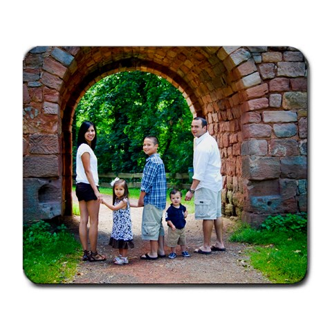 Lujan Family Mouse Pad By Jennifer Lujan   Large Mousepad   3n5b8yb1m4nv   Www Artscow Com Front