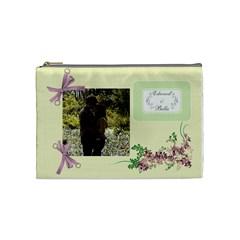 Edward & Bella By Jennifer Zelm   Cosmetic Bag (medium)   Xcnwwl88sdlv   Www Artscow Com Front