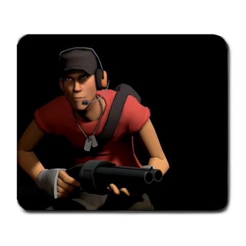 Tf2 Scout Mousepad By Fullmetal   Large Mousepad   2352gxphtbd0   Www Artscow Com Front