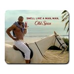 smell like a man - Collage Mousepad