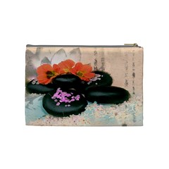 Stones By Annette Aguirre   Cosmetic Bag (medium)   Efyhijbrc90d   Www Artscow Com Back