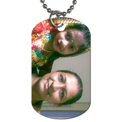 Jhj By Chintan   Dog Tag (two Sides)   6s4c0pza0ko2   Www Artscow Com Front