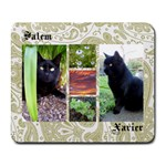 SALEM & XAVIER MOUSEPAD - Collage Mousepad
