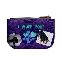 My Doggies By Karen Clark   Mini Coin Purse   7x1ow448kuh9   Www Artscow Com Back