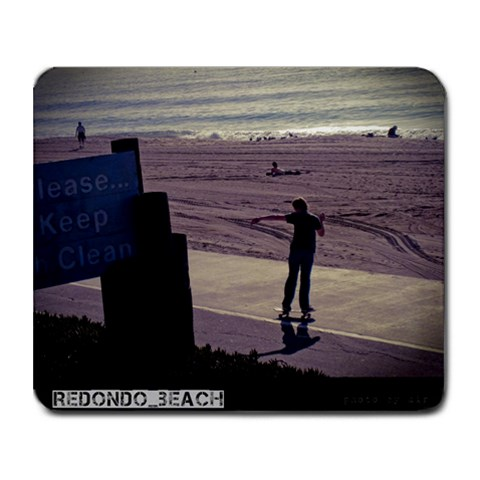 Redondo Beach Mousepad By Dir   Collage Mousepad   Uvyo9y8hmppg   Www Artscow Com 9.25 x7.75 Mousepad - 1