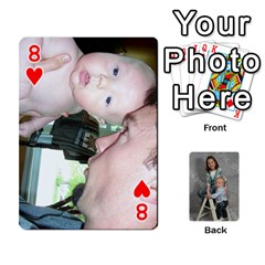 Personalized Playing Cards By Jennfer   Playing Cards 54 Designs   4jfw9h1dxy1p   Www Artscow Com Front - Heart8