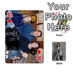 Personalized Playing Cards By Jennfer   Playing Cards 54 Designs   4jfw9h1dxy1p   Www Artscow Com Front - Diamond10