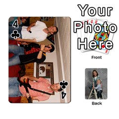 Personalized Playing Cards By Jennfer   Playing Cards 54 Designs   4jfw9h1dxy1p   Www Artscow Com Front - Club4
