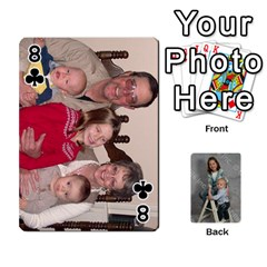 Personalized Playing Cards By Jennfer   Playing Cards 54 Designs   4jfw9h1dxy1p   Www Artscow Com Front - Club8