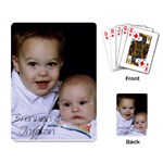 cardsfordaddy - Playing Cards Single Design