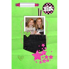 Ashley Notebook By Tina Kellock   5 5  X 8 5  Notebook   Y821zl2kxohe   Www Artscow Com Back Cover Inside