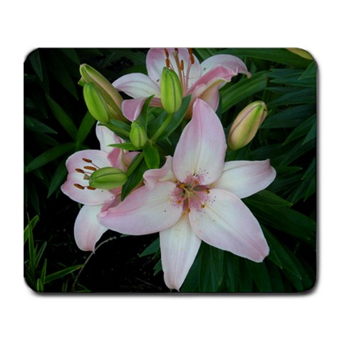 Flower By Alexjames   Collage Mousepad   9hlt6jfe792x   Www Artscow Com 9.25 x7.75 Mousepad - 1