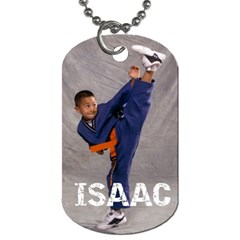 Kids Dog Tag By Micaela   Dog Tag (two Sides)   Ifsvx5xoxc43   Www Artscow Com Front