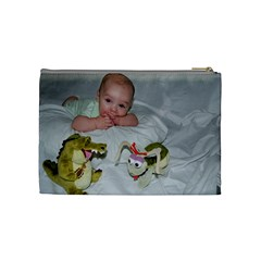 Cosmetic Bag 2 By Jennifer Renee Cassidy   Cosmetic Bag (medium)   Dkhbbxnvx3tr   Www Artscow Com Back
