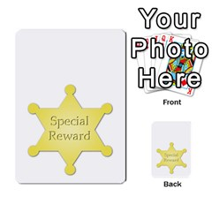 Character And Reward Cards By Brenda   Multi Purpose Cards (rectangle)   9hozjm5zk358   Www Artscow Com Back 54