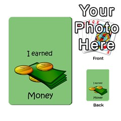 Character And Reward Cards By Brenda   Multi Purpose Cards (rectangle)   9hozjm5zk358   Www Artscow Com Back 23