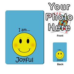 Character And Reward Cards By Brenda   Multi Purpose Cards (rectangle)   9hozjm5zk358   Www Artscow Com Front 40
