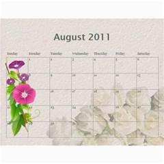 Calendar By Kanika   Wall Calendar 11  X 8 5  (12 Months)   O8dhmxkfnnu9   Www Artscow Com Aug 2011
