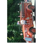 fire trucks notebook - 5.5  x 8.5  Notebook