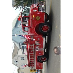 Fire Trucks Notebook By Bethnoel   5 5  X 8 5  Notebook   D8vslbn3fvba   Www Artscow Com Back Cover