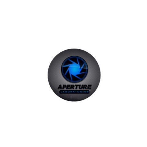 Aperture Laboratories Magnet By Fluupsel Duupsel   1  Mini Magnet   0dycjm6b9haj   Www Artscow Com Front