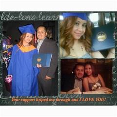 Graduation Collage By Wawi Rose Fernandez   Collage 8  X 10    Ukupwclgvfn7   Www Artscow Com 10 x8 Print - 1