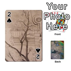 Dad s Cards By Jessica   Playing Cards 54 Designs   Ykwvnljic44l   Www Artscow Com Front - Spade2