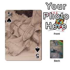 Dad s Cards By Jessica   Playing Cards 54 Designs   Ykwvnljic44l   Www Artscow Com Front - Spade5
