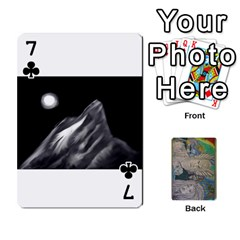 Dad s Cards By Jessica   Playing Cards 54 Designs   Ykwvnljic44l   Www Artscow Com Front - Club7