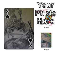 Dad s Cards By Jessica   Playing Cards 54 Designs   Ykwvnljic44l   Www Artscow Com Front - Club8
