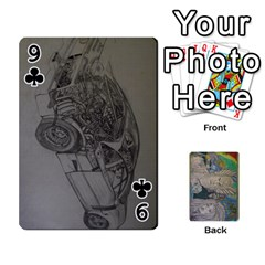 Dad s Cards By Jessica   Playing Cards 54 Designs   Ykwvnljic44l   Www Artscow Com Front - Club9