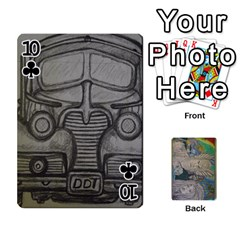 Dad s Cards By Jessica   Playing Cards 54 Designs   Ykwvnljic44l   Www Artscow Com Front - Club10