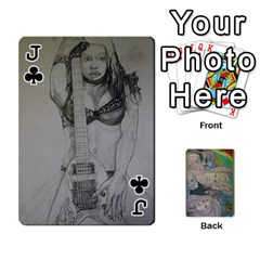 Jack Dad s Cards By Jessica   Playing Cards 54 Designs   Ykwvnljic44l   Www Artscow Com Front - ClubJ