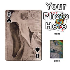 Dad s Cards By Jessica   Playing Cards 54 Designs   Ykwvnljic44l   Www Artscow Com Front - Spade8