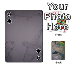 Dad s Cards By Jessica   Playing Cards 54 Designs   Ykwvnljic44l   Www Artscow Com Front - Spade9