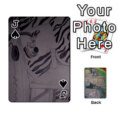 Jack Dad s Cards By Jessica   Playing Cards 54 Designs   Ykwvnljic44l   Www Artscow Com Front - SpadeJ