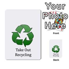 Chore Cards By Brenda   Multi Purpose Cards (rectangle)   Jjujowddjprl   Www Artscow Com Front 11