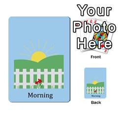 Chore Cards By Brenda   Multi Purpose Cards (rectangle)   Jjujowddjprl   Www Artscow Com Back 2
