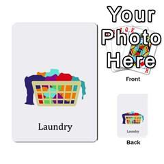 Chore Cards By Brenda   Multi Purpose Cards (rectangle)   Jjujowddjprl   Www Artscow Com Front 16