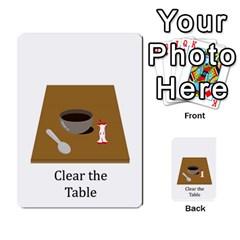 Chore Cards By Brenda   Multi Purpose Cards (rectangle)   Jjujowddjprl   Www Artscow Com Front 24