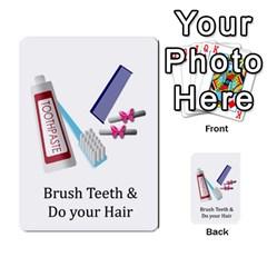 Chore Cards By Brenda   Multi Purpose Cards (rectangle)   Jjujowddjprl   Www Artscow Com Front 36