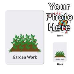 Chore Cards By Brenda   Multi Purpose Cards (rectangle)   Jjujowddjprl   Www Artscow Com Front 41
