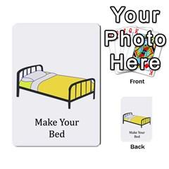 Chore Cards By Brenda   Multi Purpose Cards (rectangle)   Jjujowddjprl   Www Artscow Com Front 44