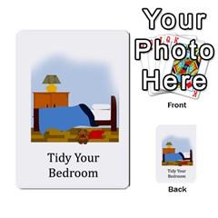 Chore Cards By Brenda   Multi Purpose Cards (rectangle)   Jjujowddjprl   Www Artscow Com Front 45