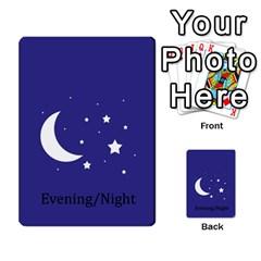 Chore Cards By Brenda   Multi Purpose Cards (rectangle)   Jjujowddjprl   Www Artscow Com Back 45